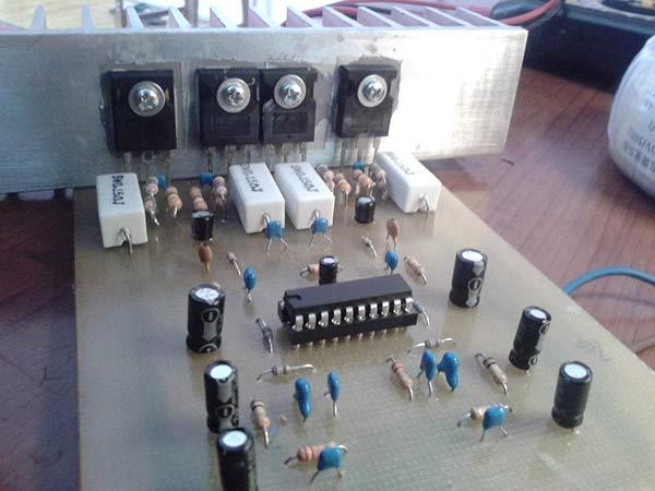 усилитель на TDA7250 amplifier