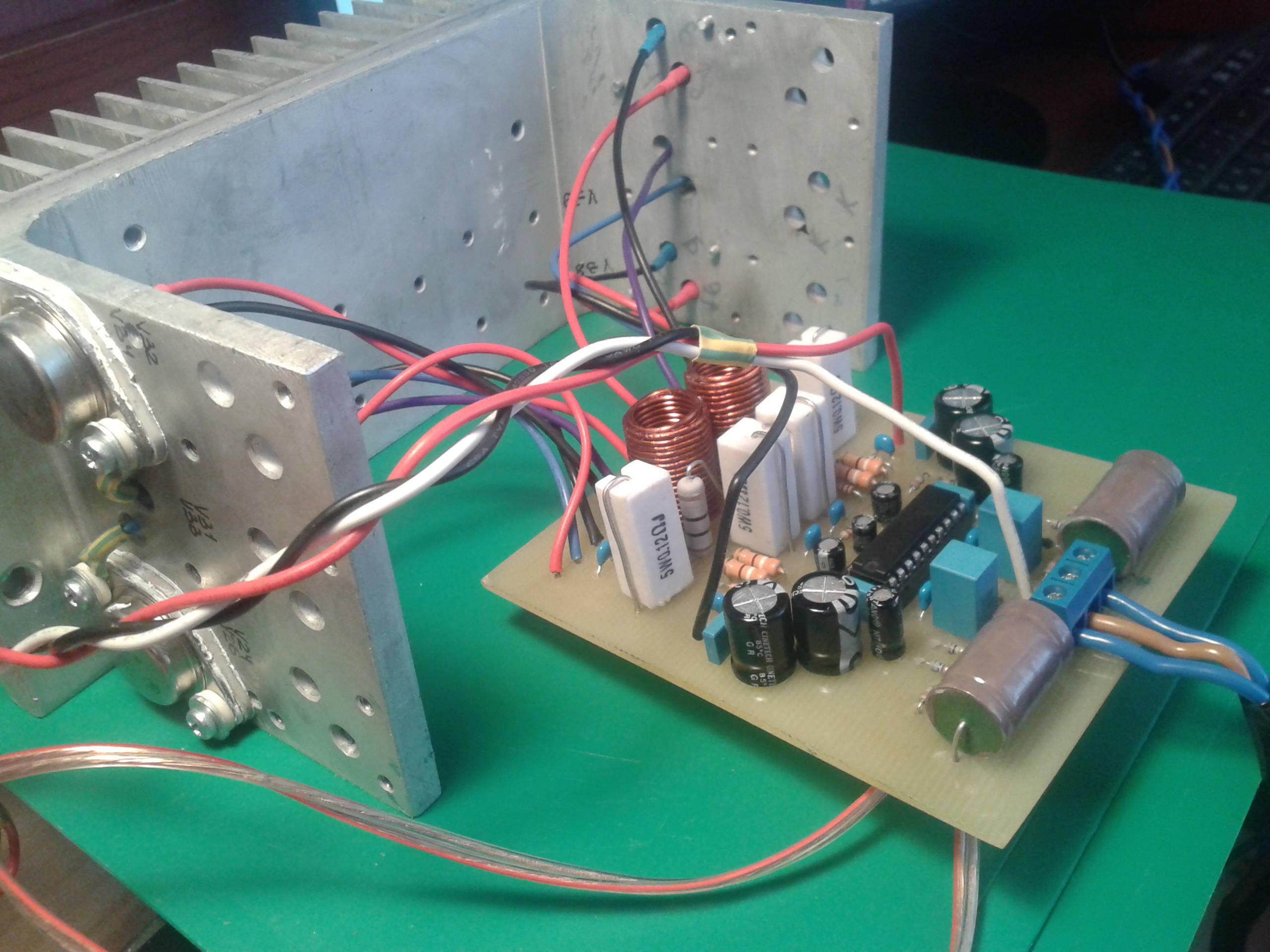 усилитель 4-х канальный в машину схема