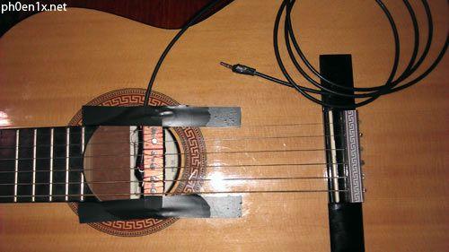 Самодельные звукосниматели на акустическую гитару - Как сделать самодельный звукосниматель для электрогитары