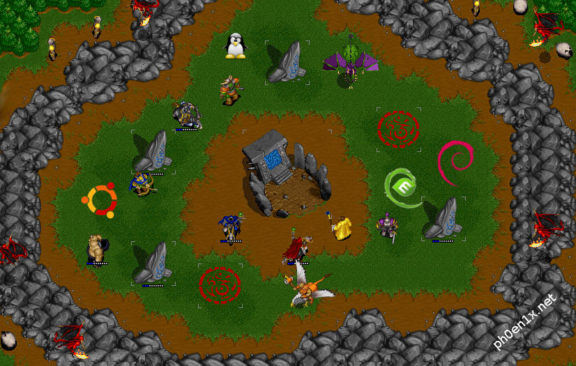WarCraft 2, Wargus, Stratagus и Linux