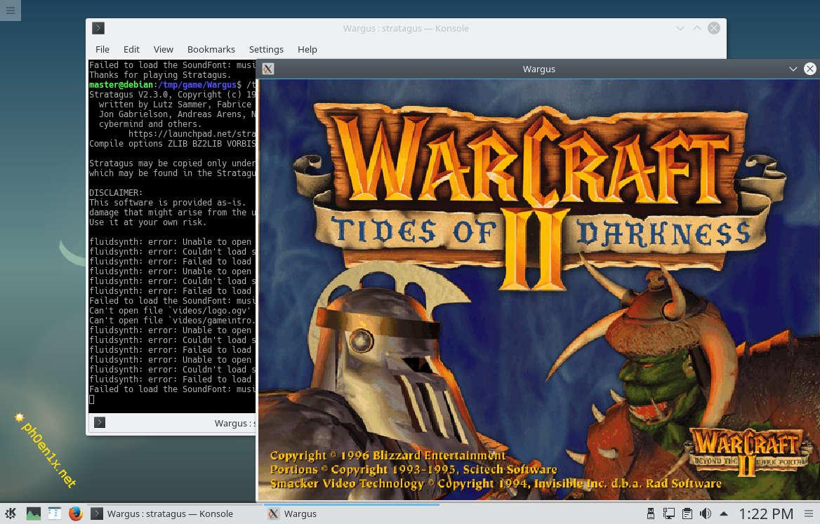 Компиляция и сборка Wargus (Warcraft 2) на Debian 9 GNU