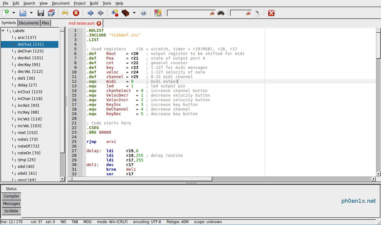 список программ для linux