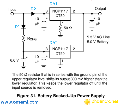 battery-backed-up-power-supply-circuit