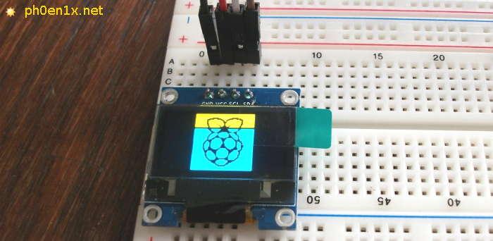 OLED дисплей SSD1306 (128х64px) и Raspberry Pi, подключение и